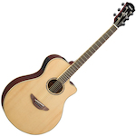 Yamaha APX600  APX Slimline Acoustic/Electric Guitar, Natural APX600NT
