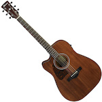 Ibanez AW54LCE Acoustic Electric Guitar Left Handed - Open Pore Natural AW54LCEOPN