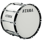 Tama Marching Bass Drum 22x14, Sugar White B2214BKSGW