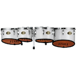 Tama Marching Tenor Toms 6, 8, 10, 12, 13, Sugar White B68023SKSGW