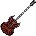 Wylde Audio Barbarian Hellfire Buzzsaw Electric Guitar BARBARIANBUZZSAWHF
