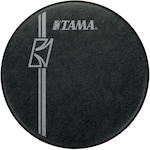 Tama 22 inch Hyperdrive Logo Drum Head, Black BK22BMFH