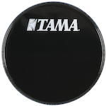 Tama 22 inch Logo Drum Head, Black BK22BMWS