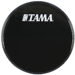 Tama 24 inch Logo Drum Head, Black BK24BMWS