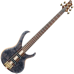 Ibanez BTB Premium 5 String Bass Guitar, Deep Twilight Flat BTB1605DTF