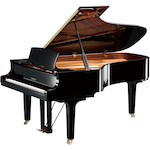 Yamaha Grand Piano, 7ft 6 Ebony C7XPE