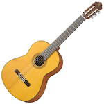 Yamaha CG122 Classical Guitar, Solid Top, Matt Finish CG122MS