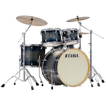 Tama CL52KSDIB Superstar Classic 5-piece Lacquer Finish Maple Shell Pack Dark Indigo Burst CL52KSDIB