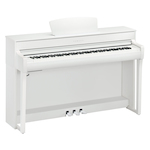 Yamaha CLP735DW Clavinova Digital Piano with Bench White CLP735WH