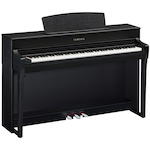 Yamaha CLP745B Clavinova Digital Piano with Bench Black CLP745B