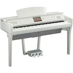 Yamaha CVP709 Clavinova Digital Piano, Polished White CVP709PWH
