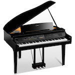 Yamaha CVP809GP Clavinova Digital Grand Piano with Matching Bench - Polished Ebony CVP809GP
