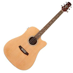 Ashton D20CEQ Acoustic Electric Natural Matte D20CEQNTM