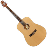 Ashton D20L Acoustic Left Handed Matte Natural D20LNTM