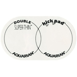 Aquarian STKP2 Super Thin Double Kick Pad Bass Drum Patch DAASTKP2
