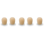 Windsock Replacement for Que Audio Microphones, 5 pack, Beige DAWSHE