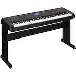 Yamaha Portable Digital Piano, Weighted Keys, Black DGX660B