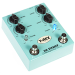 T-Rex Dr. Swamp Dual Channel Distortion Effects Pedal DRSWAMP
