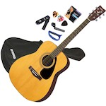 Yamaha Acoustic Guitar Package, Natural F310P