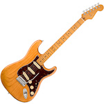 Fender American 011-8012-734 Ultra Stratocaster Electric Guitar Aged Natural FEN0118012734