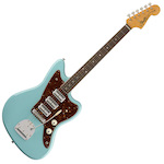 Fender FEN0173900704 60th Anniversary Triple Jazzmaster Electric Guitar Daphne Blue FEN0173900704