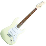 Fender FEN0370001580 Bullet Stratocaster Electric Guitar With Tremolo ? Arctic White FEN0370001580