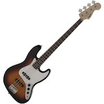 Fender 037-0760-500 Affinity Squier Jazz Bass Guitar 3 Tone Sunburst FEN0370760500