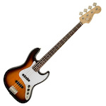 Fender Squier 037-0760-532 Affinity Series Jazz Bass Guitar Brown Sunburst FEN0370760532