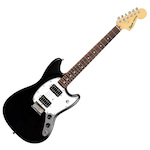 Fender Squier 037-1220-506 Bullet Mustang Electric Guitar Black FEN0371220506