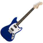 Fender Squier 037-1220-587 Bullet Mustang Imperial Electric Guitar Blue FEN0371220587