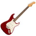 Fender Squier 037-4010-509 Classic Vibe 60s Stratocaster Electric Guitar Candy Apple Red FEN0374010509