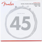 Fender 7250M Nickel Plated Steel Long Scale Bass Strings .045-.105 Medium FEN0737250406