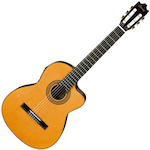 Ibanez GA6CE Classical Acoustic/Electric Guitar, Amber GA6CEAM