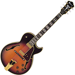 Ibanez Prestige George Benson Model, Brown Sunburst GB10BS