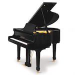 Beale Grand Piano, 4ft 8 Ebony Polish GP148A111