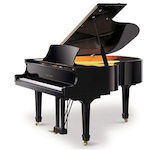 Beale Grand Piano, 6ft Ebony Polish GP183
