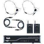 CAD Microphone Wireless Dual Body Pack L Frequency GXLUBBL