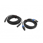 HH Cable Pack Monitor System, 1x10m XLR, 1x1.5m Speaker HHCPM
