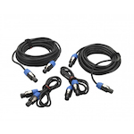 HH Cable Pack Active System, 2x10m, 2x1.5 Speakon HHCPPS