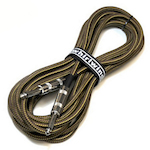 Whirlwind INSTB20  20 Foot Cloth Instrument Cable, Tweed INSTB20TWEED