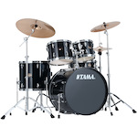 Tama Imperialstar 5-piece Rock Drum Kit, Black IP52KH6BK