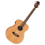 Ashton JJR20EQ  Junior Acoustic Electric Natural JJR20EQNTM