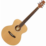 Ashton JJR20  Junior Jumbo Acoustic Guitar, Matt Natural JJR20NTM