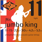 Rotosound Acoustic Strings 11-52 Phosphor Bronze JK11