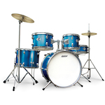 Ashton Junior Drum Kit, Blue JOEYDRUMSMB