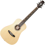 Ashton 3/4 Size Solid Top Acoustic Electric Guitar JOEYSOLID