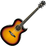 Ibanez Joe Satriani Acoustic/Electric, Vintage Burst JSA20VB