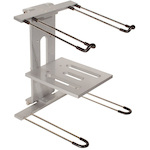 Ultimate Support Jam Stand 2-Tier Laptop Stand, Silver JSLPT400