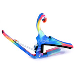 Kyser KG6TD Quick-Change Capo for 6-string acoustic guitars,Tie-Dye KG6TD
