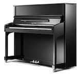 Kayserburg KHA6A KHA6 Upright Piano Polished Ebony KHA6A111